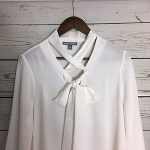Jessica London pussy bow blouse
